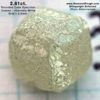 Rough Diamond Crystals for Jewelry Use As Is