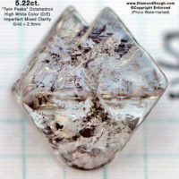 Octahedral Diamond Crystals