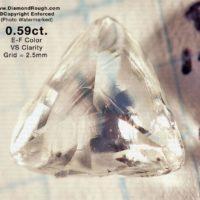 Single Macle Diamond Crystals