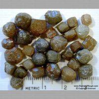 Congo Rough Diamond Crystals