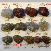 Mixed Crystal Types – 8.00 – 21.43 ct. (R4-04)