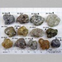 Free Form Crystals – 20.77 – 25.35 ct. (R4a-09)