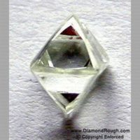 Single Octahedral Diamond Crystals