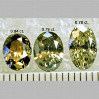 Oval Shaped Polished Diamonds