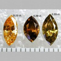 Marquise Shaped Polished Diamonds