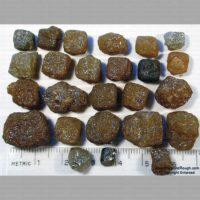 Natural Rough Diamond Parcel (Congo Cube Crystals)