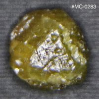 Natural Macle Rough Diamond Crystal For Sale