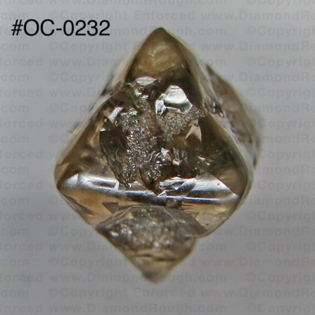 Natural Octahedral Rough Diamond Crystal For Sale