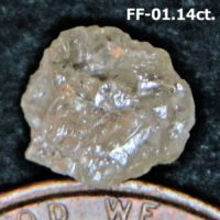 Natural Free Form Rough Diamond Crystal For Sale