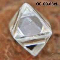 Natural Dodecahedral Rough Diamond Crystal For Sale